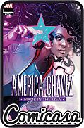 AMERICA CHAVEZ : MADE IN THE USA (2020) #1 (Of 5) Variant Cover by Hans