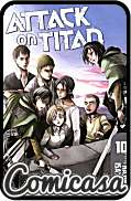 ATTACK ON TITAN (2012) DIGEST-SIZED TRADE PAPERBACK #10