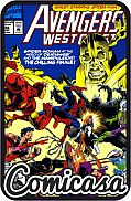 AVENGERS WEST COAST (1985) #86 Guest-starring Spider-man, [VF/NM (9.0)]