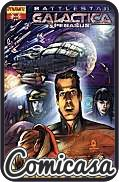 BATTLESTAR GALACTICA (NEW) : PEGASUS (2007) ONE-SHOT Art Cover, [VF/NM (9.0)]