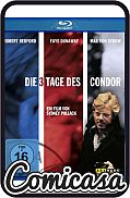 BLU-RAY - THREE DAYS OF THE CONDOR (1975) Spionage klassieker met Robert Redford. Let op Dld versie, wel NL ondertiteling, [NEW]
