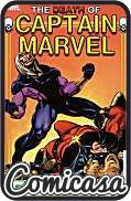 CAPTAIN MARVEL : DEATH OF CAPTAIN MARVEL (2013) TRADE PAPERBACK (Reprints Captain Marvel Issue 34, Marvel GN 1 & Marvel Spotlight Issues 1-2)