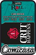 CARD HOLDER - DUNGEONS & DRAGONS : CRIT HAPPENS