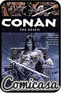 CONAN (2003) HARD COVER #14 The Death (Reprints Conan the Barbarian Issues 7-12)