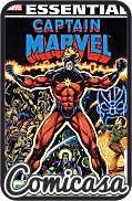 ESSENTIAL CAPTAIN MARVEL (2008) TRADE PAPERBACK #2 (Reprints Captain Marvel Issues 22-46, Iron Man Issue 55 & Marvel Feature Issue 12)