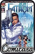 FATHOM (1998) #13 Guest Starring Witchblade & Tomb Raider!, [Fine/VF (7.0)]