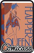 FLAPPER QUEENS : WOMEN CARTOONISTS OF JAZZ AGE (2020) HARD COVER