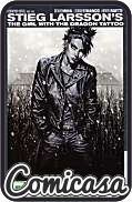GIRL WITH THE DRAGON TATTOO (2012) HARD COVER #2