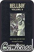 HELLBOY : LIBRARY EDITION (2008) OVER-SIZED HARD COVER #6 The Storm and the Fury & The Bride of Hell