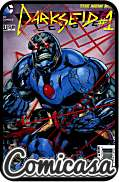 JUSTICE LEAGUE (2011) #23 Point 1 : Darkseid [3D lenticular cover]