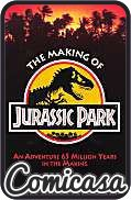 MAKING OF JURASSIC PARK An Adventure 65 Million Years in the Making, [VF/NM (9.0)]