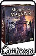 MANSIONS OF MADNESS - SECOND EDITION A Game of Exploration, Mystery and Arkham Horror [1-5 players]