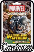 MARVEL CHAMPIONS - EXPANSION : WRECKING CREW Living Cardgame Scenarion Pack