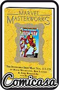 MARVEL MASTERWORKS : IRON MAN (2005) HARD COVER #13 Direct Market Variant Cover