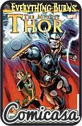 MIGHTY THOR / JOURNEY INTO MYSERY : EVERYTHING BURNS (2013) HARD COVER (Reprints Mighty Thor Issues 18-22 & Journey into Mystery 642-645)