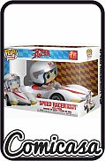 POP! ANIMATION - SPEED RACER : SPEED RACER WITH THE MACH 5 Vinyl Figure