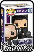 POP! MOVIES - JOHN WICK : JOHN WICK WITH DOG Vinyl Figure