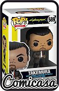 POP! VIDEO GAMES - CYBERPUNK 2077 : TAKEMURA Vinyl Figure
