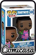POP! VIDEO GAMES - FORTNITE : GIDDY UP Vinyl Figure