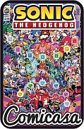 SONIC THE HEDGEHOG (2018) #37 B-Cover