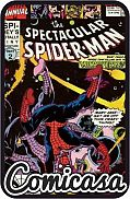 SPECTACULAR SPIDER-MAN (1976) ANNUAL #10 Spidey's Totally Tiny Adventure, [VF/NM (9.0)]