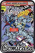 SPECTACULAR SPIDER-MAN (1976) ANNUAL #12 Hero Killers Part 2, [VF/NM (9.0)]