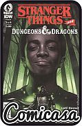 STRANGER THINGS / DUNGEONS & DRAGONS : CROSSOVER (2020) #3 B-Cover