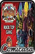 SUPER DUNGEON EXPLORE - EXPANSION : ROCK TOP GANG [Contains: 13 miniatures, monster game cards, 6 markers & unique treasue card]