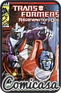 TRANSFORMERS : REGENERATION ONE (2012) #87 A-Cover