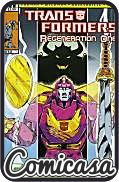 TRANSFORMERS : REGENERATION ONE (2012) #89 B-Cover