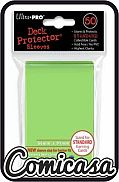 ULTRA PRO - STANDARD SLEEVES : LIME GREEN [Contains 50 sleeves, new size : 66mm x 91mm]