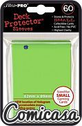 ULTRA PRO - YU-GI-OH SLEEVES : LIME GREEN [Contains 60 sleeves. Size 62mmx89mm]