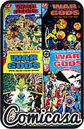 WAR OF THE GODS (1991) COMPLETE SET (Complete Set of Issues 1-4) [Collector's Editions with poster insert], [Very Fine+ (8.5)]