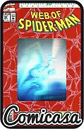 WEB OF SPIDER-MAN (1984) #90 Hologram Anniversary Issue, [VF/NM (9.0)]