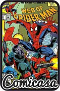 WEB OF SPIDER-MAN (1984) #97 First Appearance Kevin Trench Nightwatch, [Very Fine (8.0)]